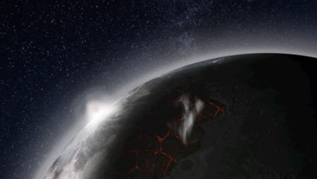 40亿年前,月亮也曾有过大气层