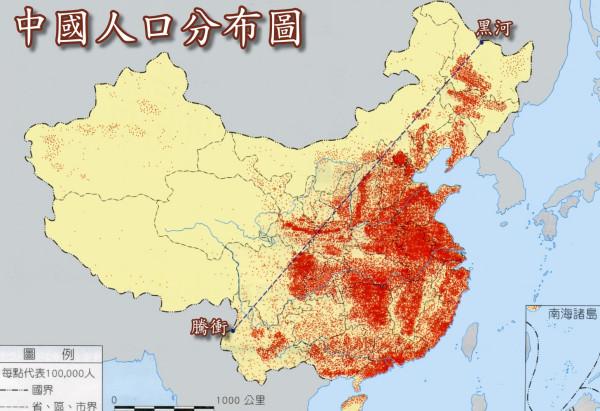 我国的人口主要分布在哪里_我国酸雨地区主要分布